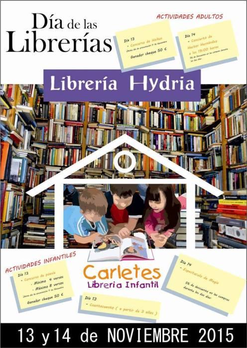 Día de las Librerías en Carletes-Hydria