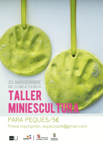 Taller de Miniescultura en Zink