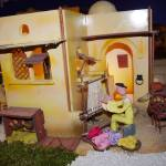 Belén de plastilina artesano en El Tormes
