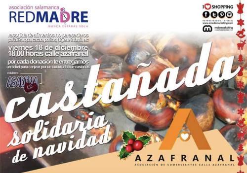 Castañada Solidaria en Azafranal