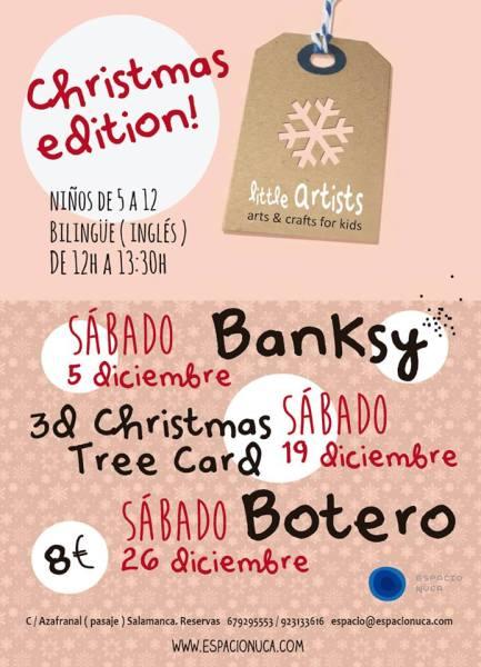 Christmas Edicion 2015 de Espacio Nuca