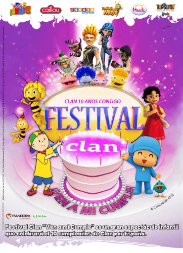 Festival Clan en Salamanca