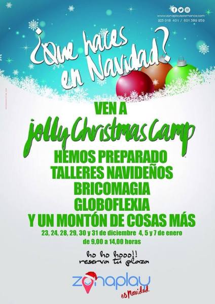 Jelly Christmas Camp en Zona Play