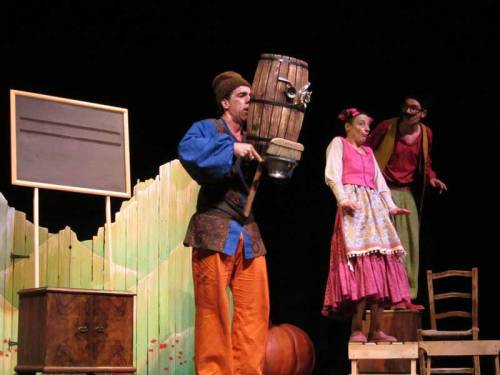 La rebelión de los caracoles en el Teatro Liceo de Salamanca
