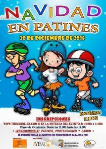 Navidad en patines con Think Roller y Avesal el 20 de diciembre en Salamanca