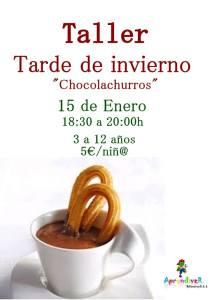 Chocolachurros en Aprendiver