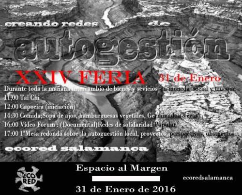Feria de EcoRED Salamanca en Al Margen