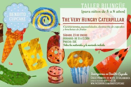 Taller bilingüe para niños en Bendito Cupcake en Salamanca