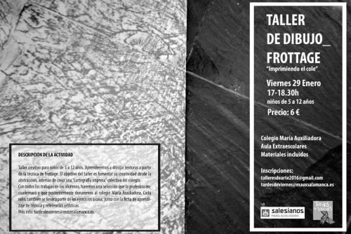 Taller de Arte Infantil de Zink Espacio Emergente en el Colegio María Auxiliadora de Salamanca