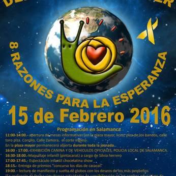 15 de febrero Día Internacional del Niño con Cáncer en Salamanca