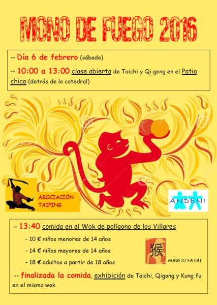 Celebra el Año Nuevo Chino en Salamanca el 6 de febrero