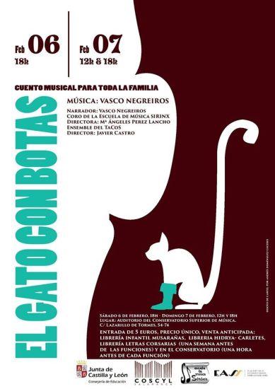 Concierto en familia en el Conservatorio Superior de de Música de Castilla y León en Salamanca