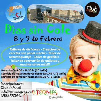 Días sin cole por Carnaval en el Centro Comercial El Tormes