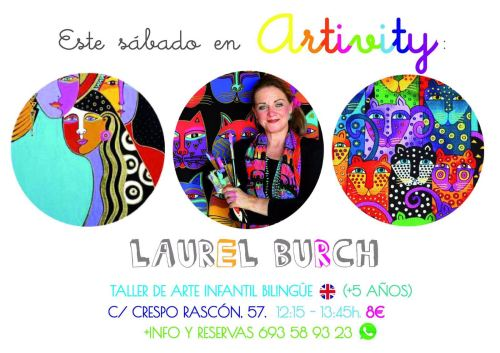 Artivity con Laurel Burch