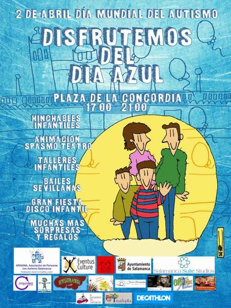 Celebramos el Día Mundial del Autismo en Salamanca