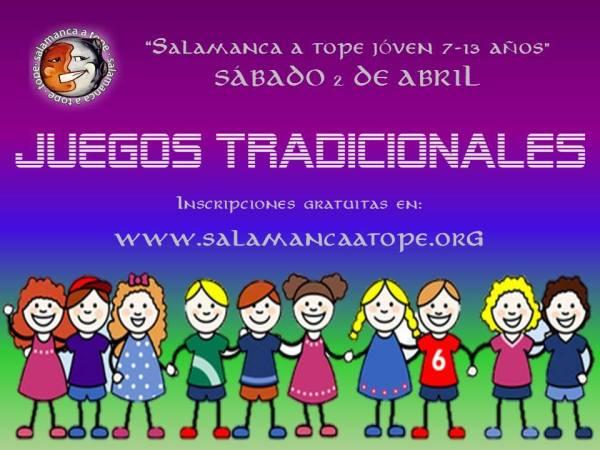 Juegos tradicionales en Satope el 2 de abril
