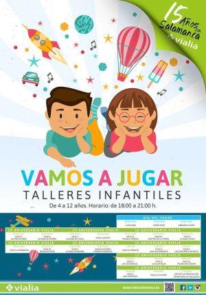 Talleres infantiles en Vialia para celebrar los 15 años de Vialia Salamanca