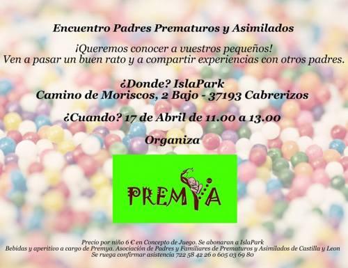 Encuentro padres prematuros y asimilados PREMYA en Cabrerizos