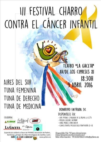III Festival Charro contra el cáncer infantil