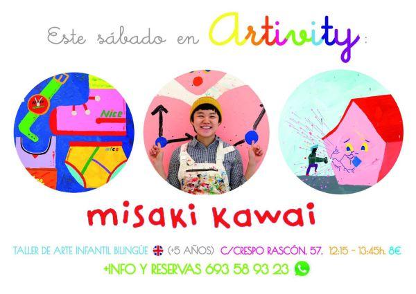 Artivity con Misaki Kawai