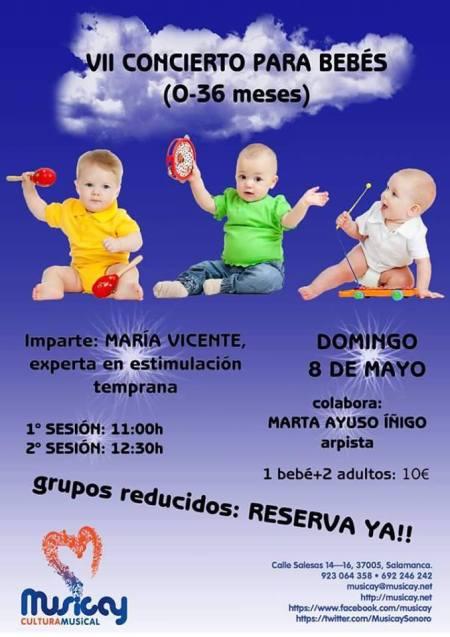 Concierto para bebés en Musicay con María Vicente y Marta Ayuso