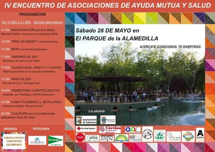 IV Encuentro de asociaciones de ayuda mutua y salud SOMOS CAPACES
