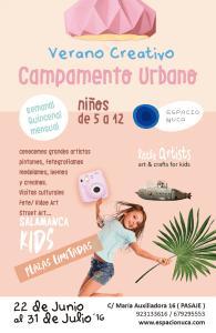 Campamento urbano de Espacio Nuca