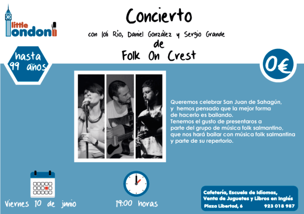 Concierto de Folk On Crest en Little London