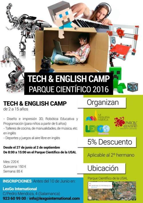 Summer Camp Científico y Tecnológico en Villamayor