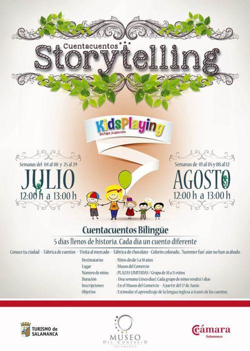 Taller de Cuentacuentos Storytelling en el Museo del Comercio