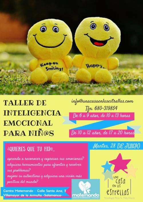 Taller de inteligencia emocional para niños en Maternando con Una Casa en las Estrellas