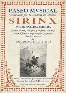 XXIII Paseo Musical de Sirinx