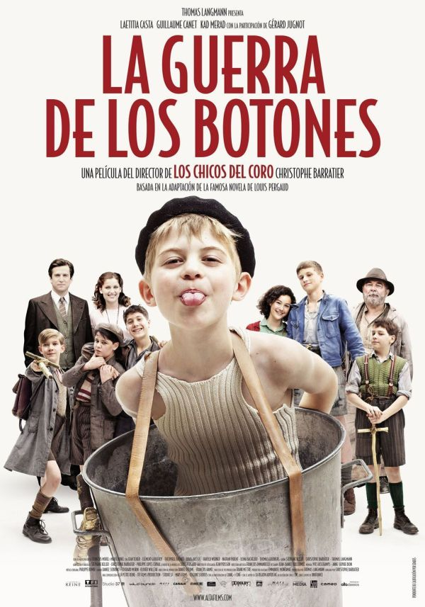 """Peli """"La Guerra De Los Botones"""" en la Biblioteca Torrente Ballester"""