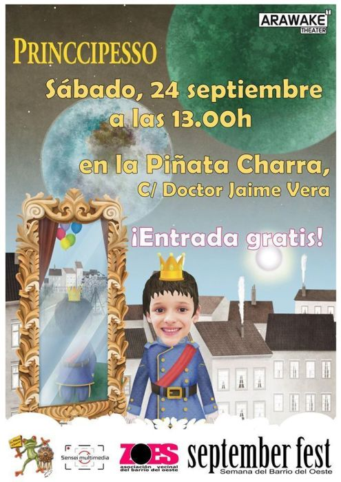 Principesso en el September Fest de ZOES