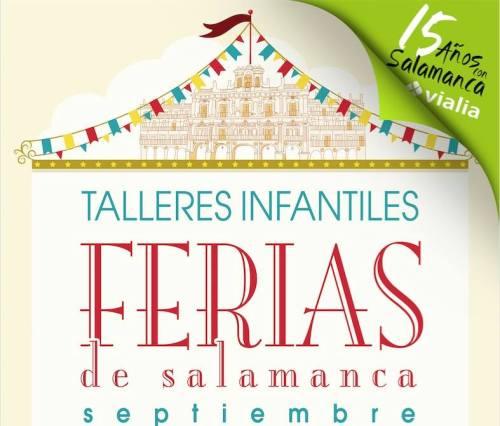 Talleres infantiles en Vialia durante las Ferias de Salamanca 2016