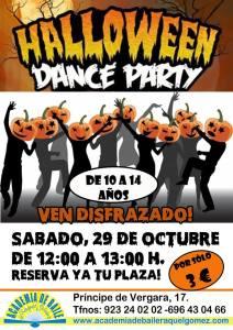 A celebrar Halloween bailando sin parar en la Academia de Baile de Raquel Gómez