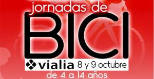 Llévate tu bici a Vialia y participa en los talleres de la bici