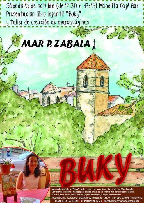 """Presentación del libro """"Buky"""" y taller infantil de marcapáginas en el Café Manolita de Salamanca"""