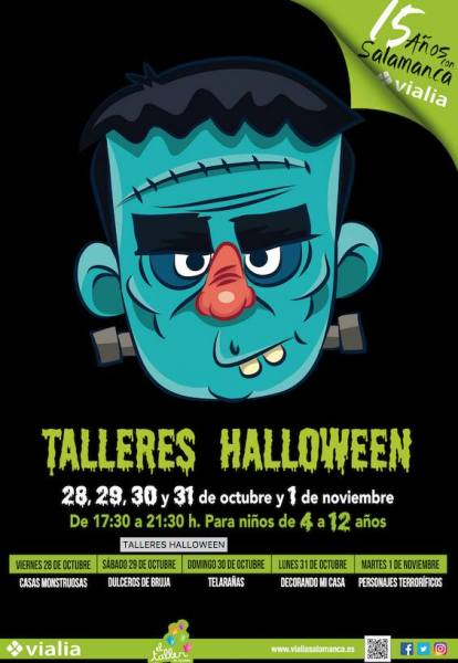 Talleres infantiles de Halloween en Vialia Salamanca