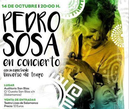 Concierto de Pedro Sosa a beneficio de la Fundación Carpio Pérez