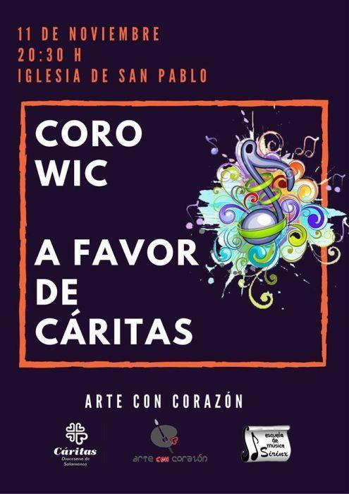 Concierto Solidario del Coro WIC de Sirinx a favor de Cáritas
