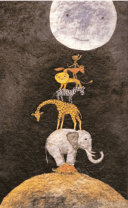 Cuentacuentos ¿A qué sabe la Luna? en la Sala Micenas ATV de Salamanca