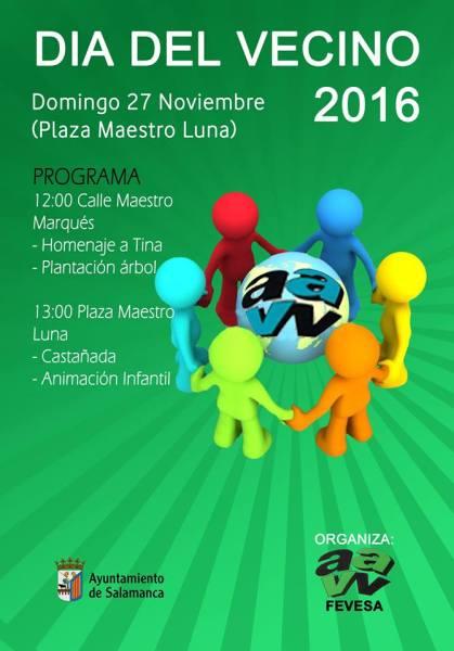 FEVESA organiza el Día del Vecino en Salamanca