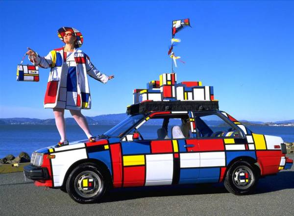 Piet Mondrian en el Little Artists de Espacio Nuca