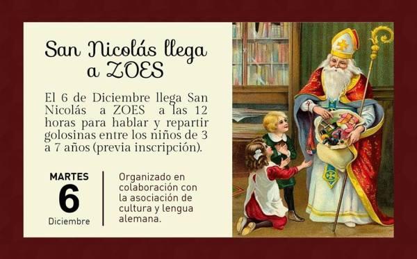 San Nicolás visita ZOES