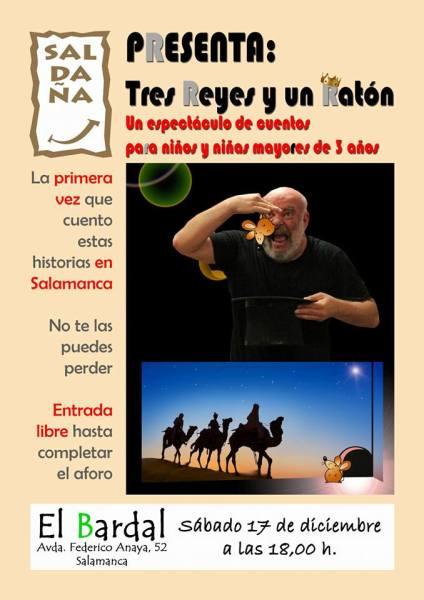 Cuentacuentos de Fernando Saldaña en el Bar El Bardal