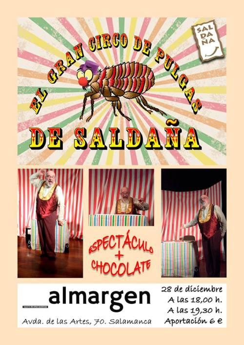 El gran circo de pulgas de Saldaña en Al Margen