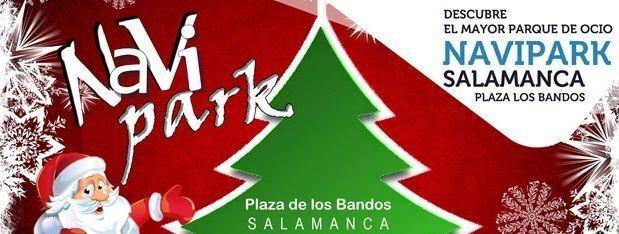 Navipark Salamanca 2016 en la plaza de los Bandos