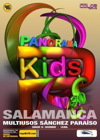 Panorama Kids en el Multiusos Sánchez Paraíso de Salamanca