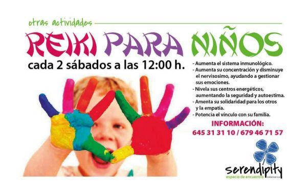Reiki para niños en Serendipity Salamanca